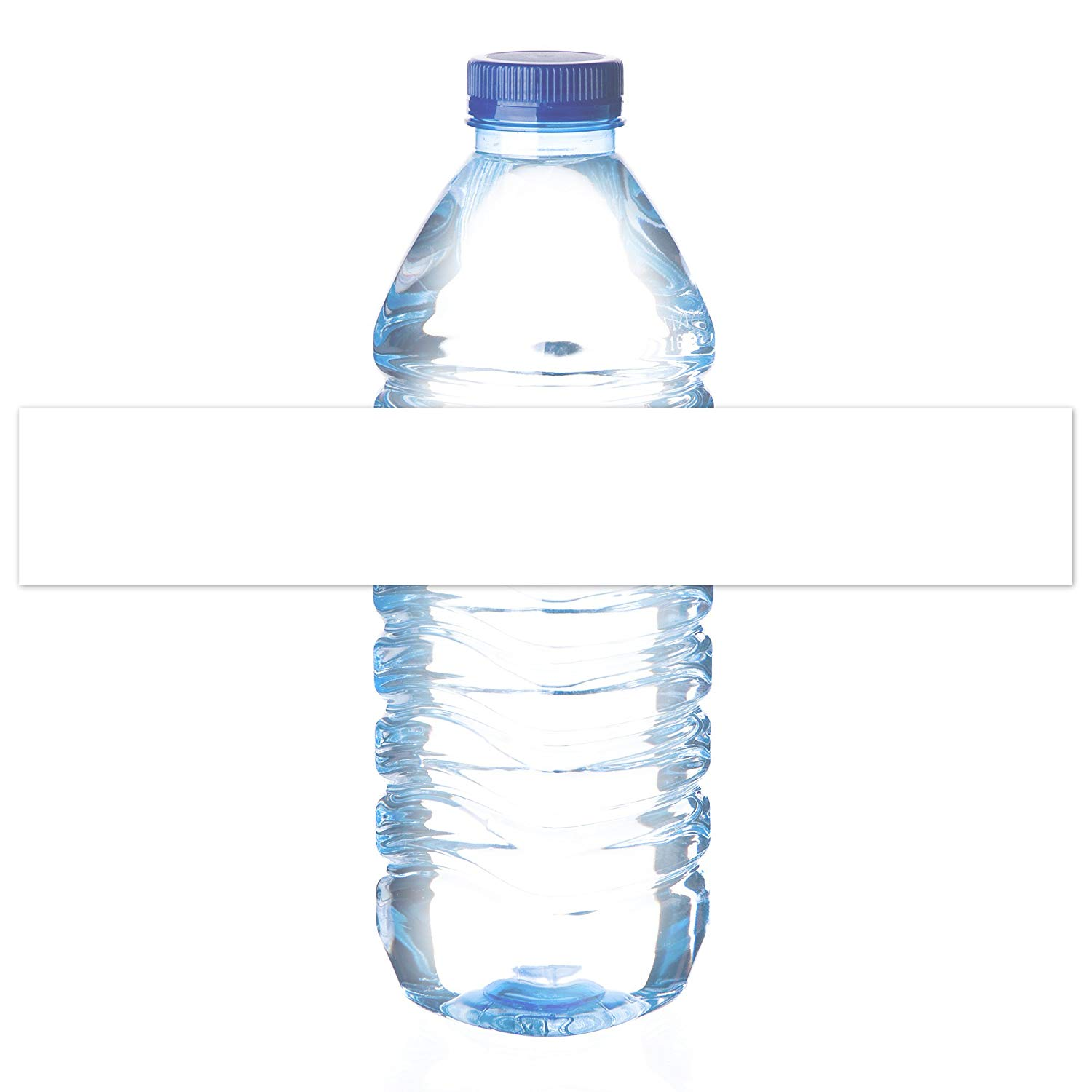 photograph relating to Waterproof Printable Labels identify Mr-Label-Water-proof Blank Drinking water Bottle LabelsUS Letter Sheet - for InkjetLaser Printer-Self-Adhesive Wraparound-for 16oz. H2o Bottle-Matte