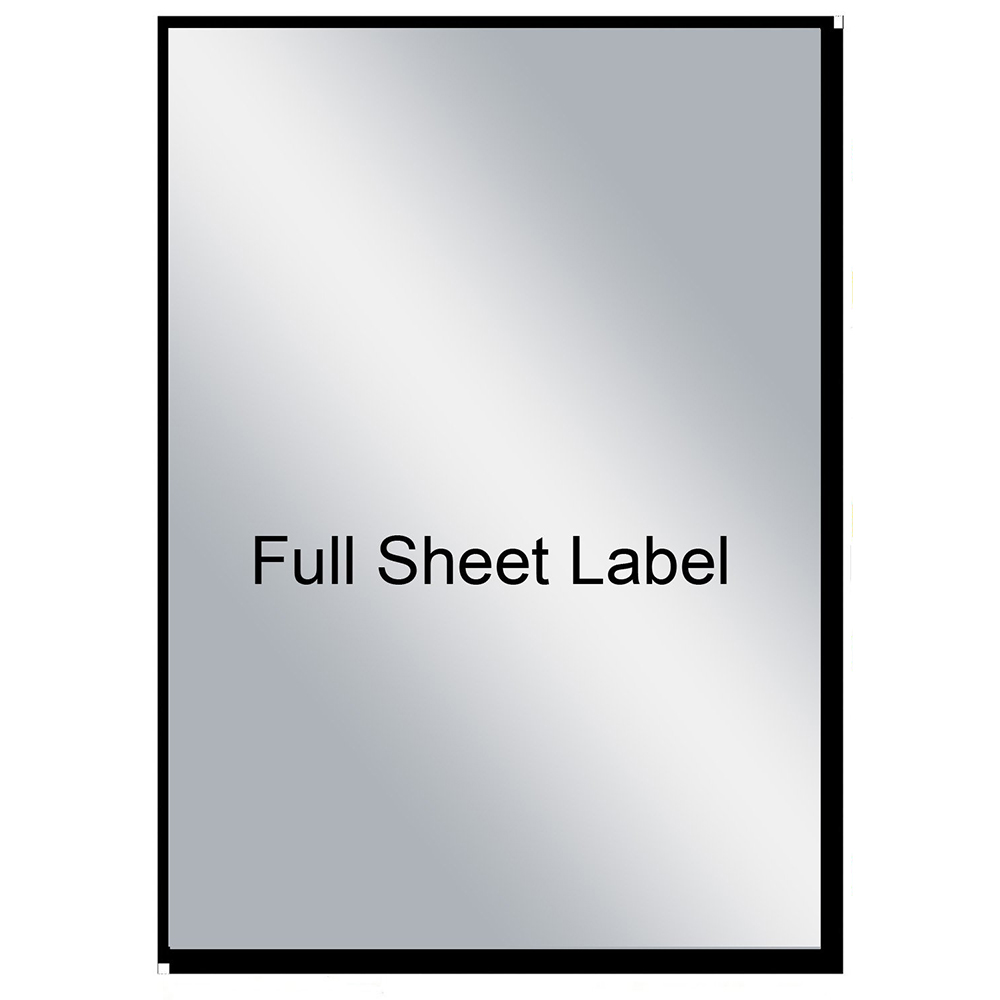 photograph about Waterproof Printable Labels known as Mr-Label Excess High Finish A4 Sheet Matte Silver Label Adhesive Labels  Scratchproof Watertight Stickers for Enterprise Written content Wine Bottle - Laser